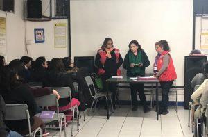 Reunión con Mujeres Dirigentes de la Municipalidad de Quilicura
