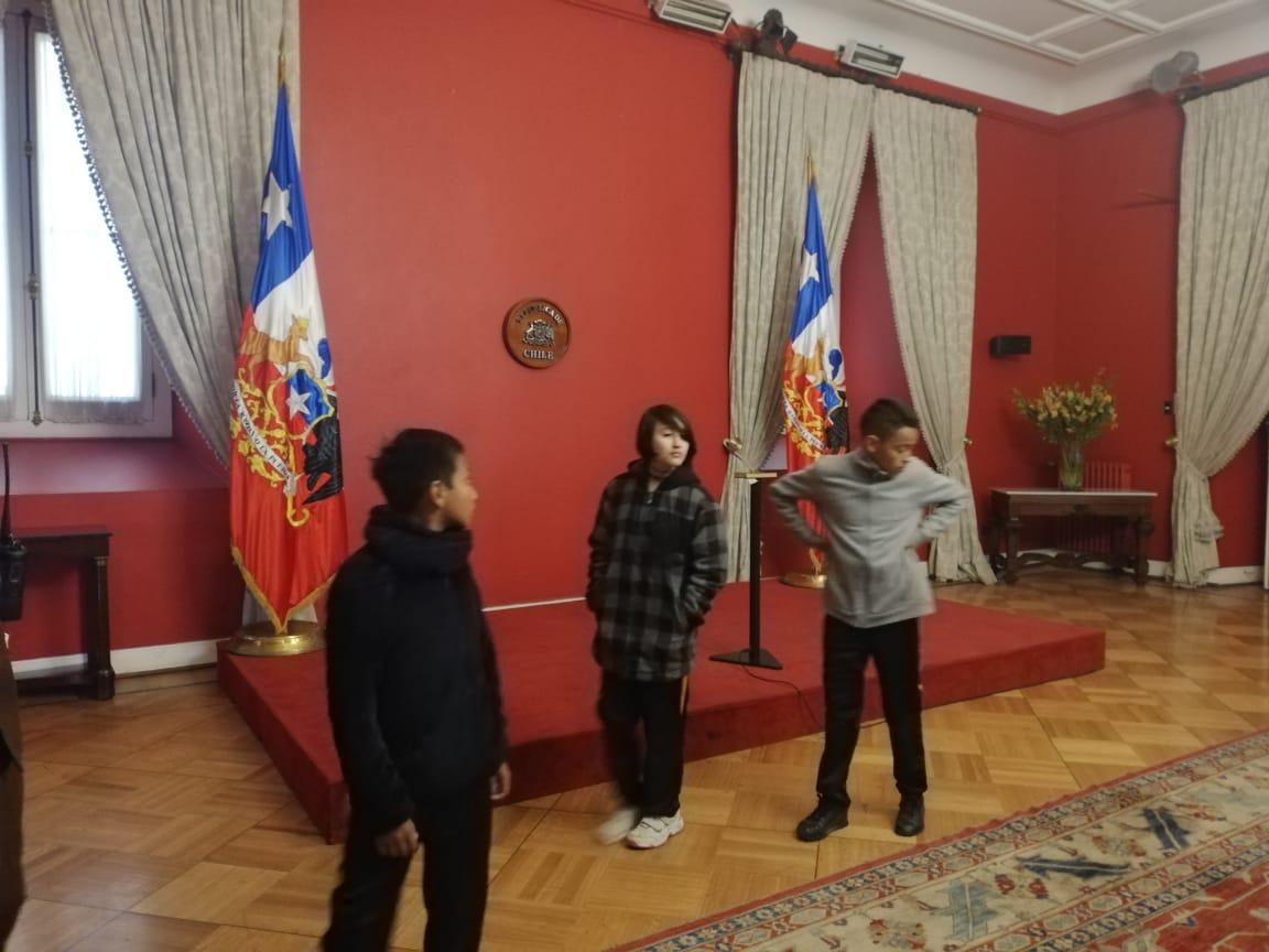 Salida pedagógica a La Moneda y cerro San Cristóbal